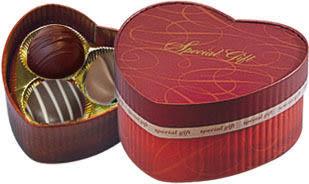 ❤浪漫白色情人節~送紙絲❤{濃情系列} 3入心型巧克力盒/手工香皂/肥皂/禮盒(小)(200入/組)