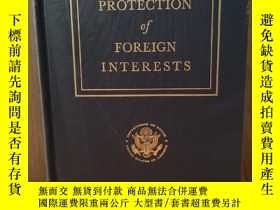 二手書博民逛書店PROTECTION罕見OF FOREIGN INTERESTS