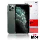 iMos 3SAS iPhone 11 Pro Max (6.5) 非滿版超抗潑水疏油效果保護貼-正面