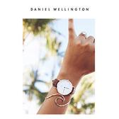 DW手錶 36mm玫瑰金框 Classic 深棕真皮皮革  - Daniel Wellington