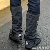 雨易思 高筒防水鞋套 加厚防滑防沙戶外男女雨天騎行防雨鞋套 莫妮卡小屋