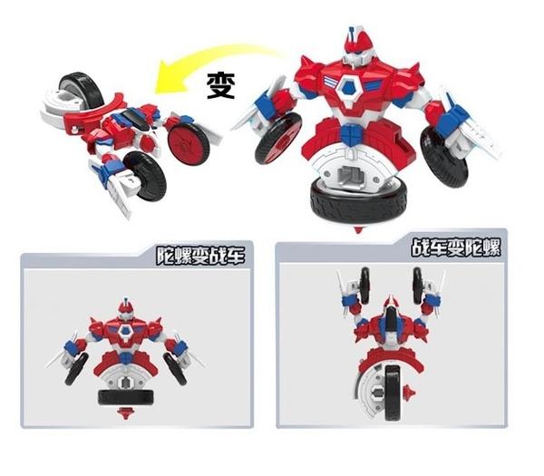 正版 魔幻陀螺3代機甲戰車 旋力大套裝-劍齒鯊
