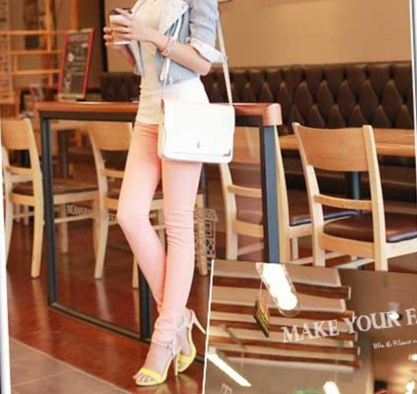 [24hr-現貨 賠本下殺] 韓國超激顯瘦褲 顯瘦 高腰 鉛筆褲 長褲 超彈力合身褲子 窄管褲 內搭牛仔褲