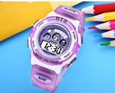 ots手錶男孩防水夜光小學生電子錶女孩可愛鬧鐘小孩手錶男童   WD時尚潮流