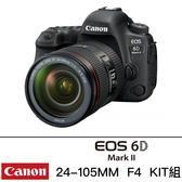 Canon EOS 6D Mark II 24-105mm f4 II USM kit 6D2 台灣佳能公司貨 限時特惠中 降價有感