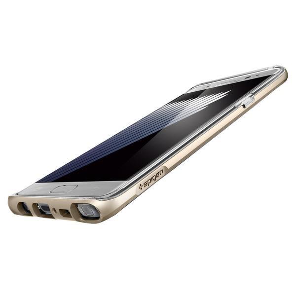 【贈9H玻璃保貼】SGP 三星 Note7 Neo Hybrid Crystal 透明背蓋邊框保護殼 手機殼 Note 7