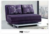 【MK億騰傢俱】CS701-01蔓蒂紫色絲絨布沙發床