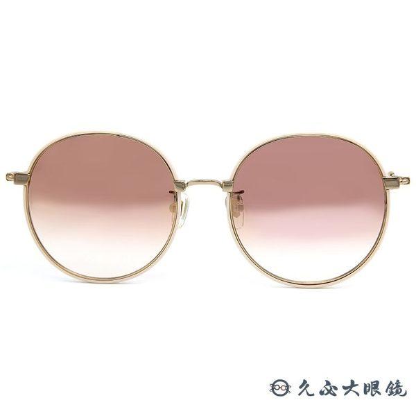 LASH 墨鏡 ITCHY PK04 ( 粉-金) 圓框 韓國 淺水銀 太陽眼鏡 久必大眼鏡