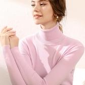 特賣高领毛衣女2020秋冬高領羊毛衫女套頭百內搭毛衣修身打底針織衫