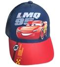 【卡漫城】 Cars 網帽 深藍 ㊣版 男童 帽子 透氣 童帽 遮陽帽 棒球帽 鴨舌帽 汽車總動員 閃電麥坤