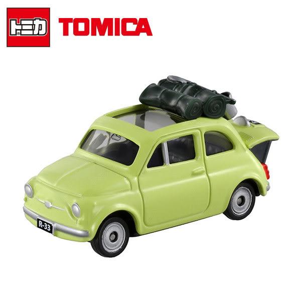 【日本正版】Dream TOMICA 多美小汽車 魯邦三世 FIAT 500 玩具車 - 804529