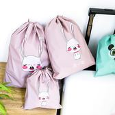 【新年鉅惠】日系可愛束口袋衣物收納袋抽繩袋防水便攜小物件整理旅行內衣收納