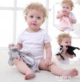 安撫巾嬰兒可入口純棉睡眠啃咬標簽陪睡玩具多功能毛絨玩偶公仔 歐韓時代