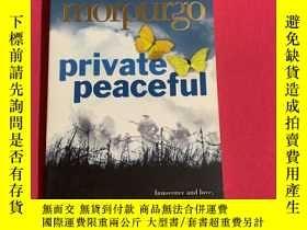 二手書博民逛書店Private罕見Peaceful  Michael HarperCollinsY461544 Michael