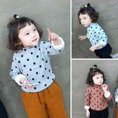 寶寶加絨打底衫女童1-3-5歲加厚保暖上衣冬季2018新款兒童衣服 薇薇