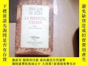 二手書博民逛書店FRAY罕見LUIS DE LEON·A PERFECTA CA