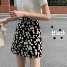小雛菊裙子女2020夏季新款高腰A字半身裙碎花裙包臀顯瘦短裙ins潮 TZ738【雅居屋】