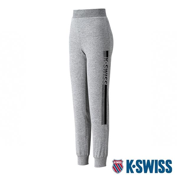 K-SWISS Ks Waist Band Sweat Pants棉質運動長褲-男-灰
