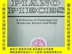 二手書博民逛書店36罕見twentieth century piano piec