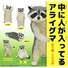 全套5款【日本正版】工讀生浣熊 扭蛋 轉蛋 動物工讀生 KITAN 奇譚 - 304333
