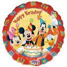 18吋鋁箔氣球(不含氣)-米奇的生日派對