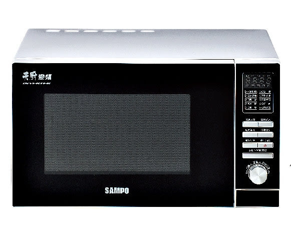 ◤A級福利品‧數量有限◢ SAMPO 聲寶28公升天廚變頻微波爐 RE-B528TD