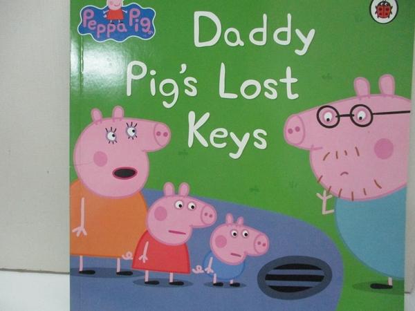 【書寶二手書T3/少年童書_I4M】Peppa Pig: Daddy Pig s Lost Keys_Mandy archer