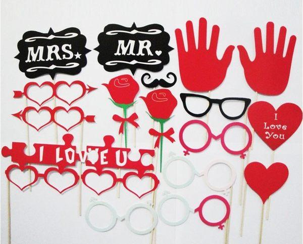 18款pc 紙鬍子、婚慶道具、派對道具─預購CH290