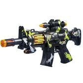 兒童電動玩具槍男孩子發聲光音樂震動寶寶小孩沖鋒搶2-3-4-5-6歲
