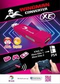 [哈GAME族]免運費 可刷卡 台灣代理安心購 雲城 BROOK XE 手把轉接器 桃紅 XBOX360/X1轉PS4