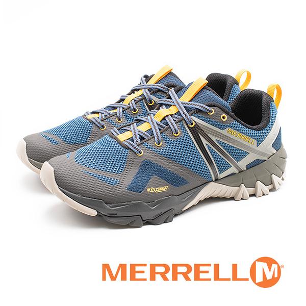 MERRELL MQM FLEX GORE-TEX 防水郊山健行鞋 男鞋 - 藍(另有橄欖綠)