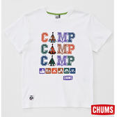 CHUMS RAYON 3 Camp 短袖T恤-白色 【GO WILD】