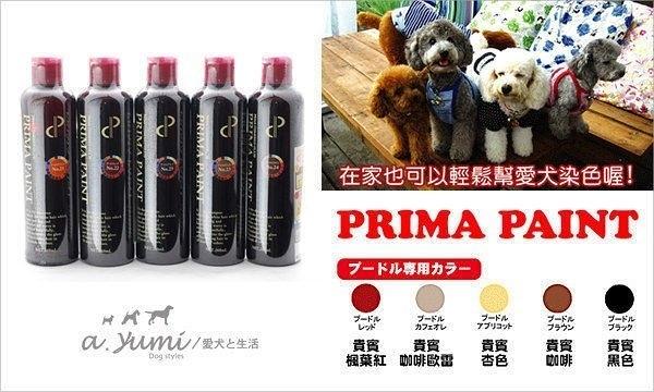 *WANG*【超取/宅配免運組】PRIMA PAINT日本進口貴賓狗專用 貴賓染色洗毛精250ml