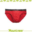 【Mountneer 山林 男 排汗三角內褲《紅色》】11K83-37/透氣內褲/排汗內褲/四角褲/三角褲