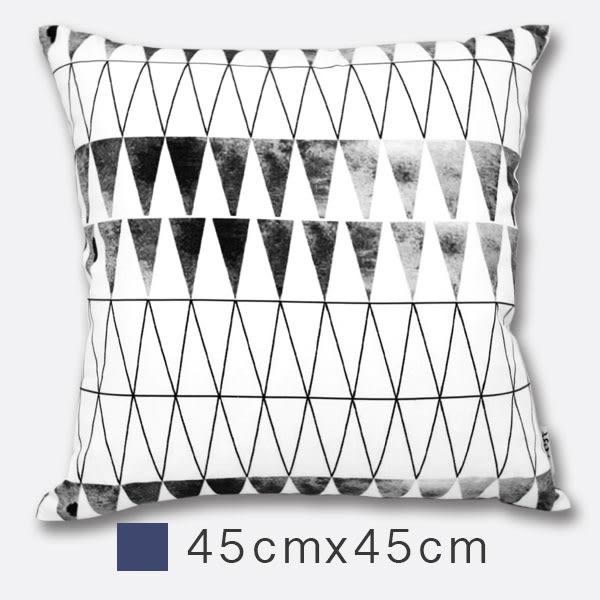 Udya印繪抱枕(含枕心)-網影 45cm×45cm 印刷風/ 設計款/ 小尺寸/ 靠墊/ 腰枕/ 午安枕【MSBT 幔室布緹】