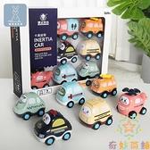 兒童回力車慣性小汽車工程車男孩寶寶玩具車【奇妙商舖】