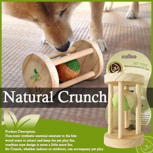 *King Wang*Natural Crunch《會呼吸的玩具系列/貓咪木頭玩具》LWT-0808