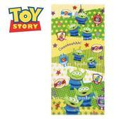 日本限定 迪士尼  玩具總動員 三眼怪 星星可愛徽章風版  毛巾 / 浴巾 60×120cm