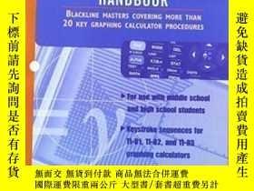 二手書博民逛書店Graphing罕見Calculator Handbook 1997 Copyright-圖形計算器手冊1997版