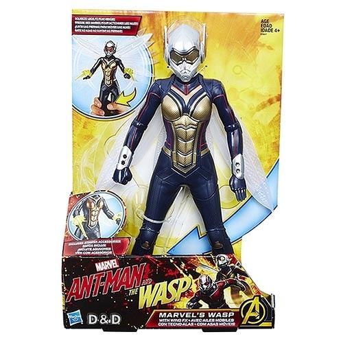 《 MARVEL 》漫威超級英雄 - 蟻人電影 翅動黃蜂女12吋人物 ╭★ JOYBUS玩具百貨