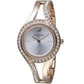 施華洛世奇SWAROVSKI耀眼流線時尚腕錶  5377563