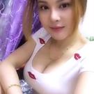 低胸上衣 夏季新款紅唇刺繡圓領女裝長袖韓版收腰低胸顯瘦T恤打底衫