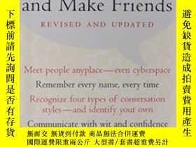 二手書博民逛書店How罕見To Start A Conversation And Make FriendsY364682 Do