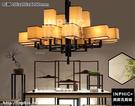 INPHIC-新中式吊燈仿古酒店會所工程燈飾大氣創意中國風古典客廳鐵藝吊燈-12頭 106x106xH100cmm_S3081C