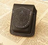 【家居優品】磁扣煤油打火機皮套zippo火機保護套耐用真皮牛皮套通用火機包