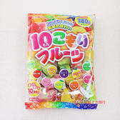 RIBON立夢10種繽紛水果糖180g【0216團購會社】4903316442068