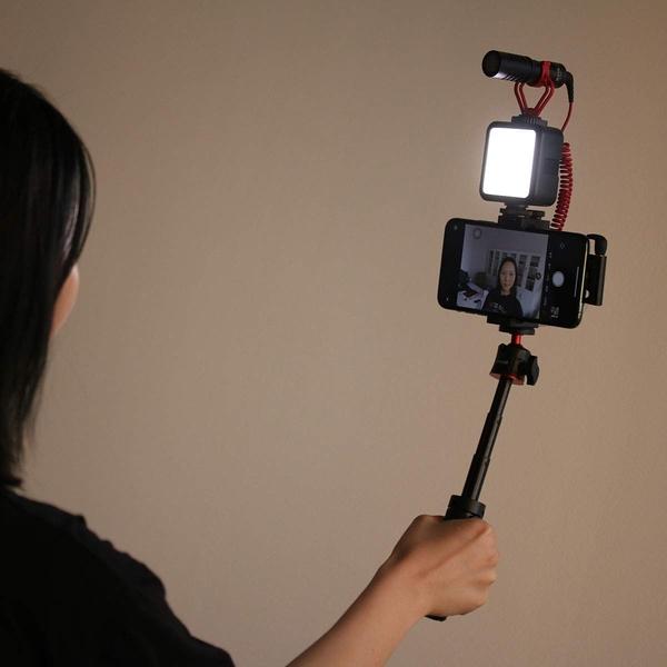 ULANZI MT-08 延長手柄三腳架(1/4口)球型雲台桌面三腳架 1/4 手機 微單 自拍桿 自拍架 直播 便攜