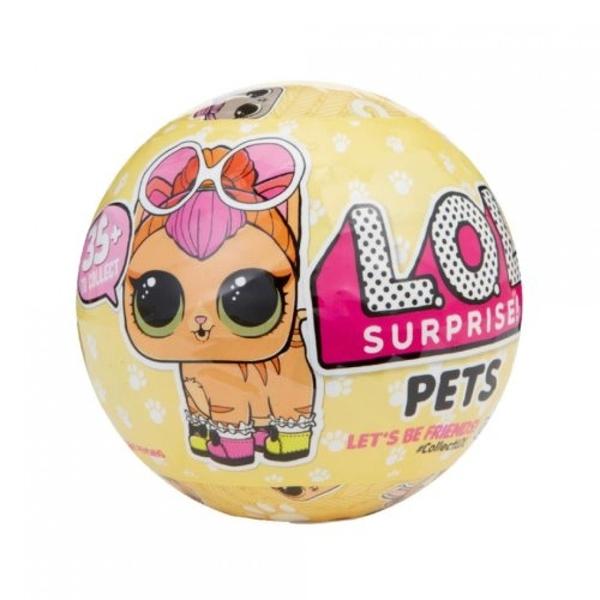 《 LOL Surprise 》LOL驚喜寵物寶貝蛋 黃 / JOYBUS玩具百貨