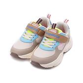KANGAROOS 潮流運動老爹鞋 卡其 KK11881 中大童鞋