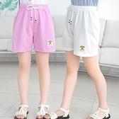 女童短褲 2021夏季休閒女童薄款兒童女孩百搭女寶純棉短褲男童外穿運動褲潮
